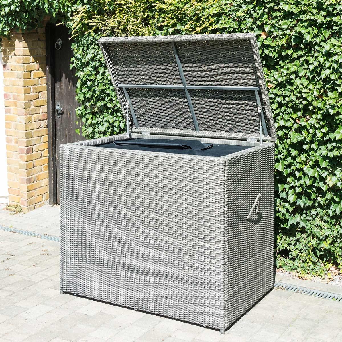 Glencrest Katie Blake Seville Large Waterproof Cushion Storage Box - Grey