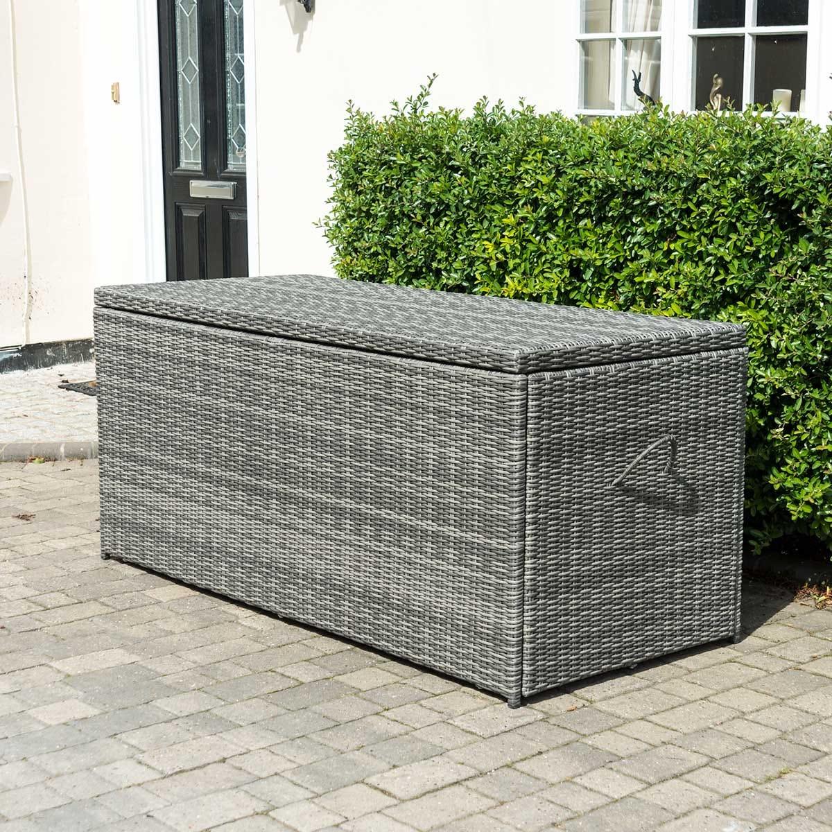 Glencrest Katie Blake Seville Extra Large Waterproof Cushion Storage Box - Grey