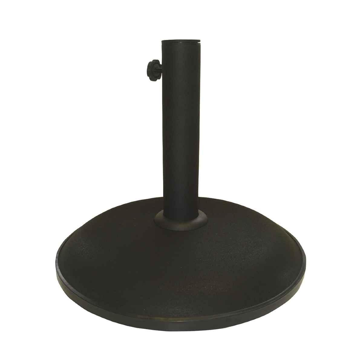 Sturdi Concrete 15kg Parasol Base - Black