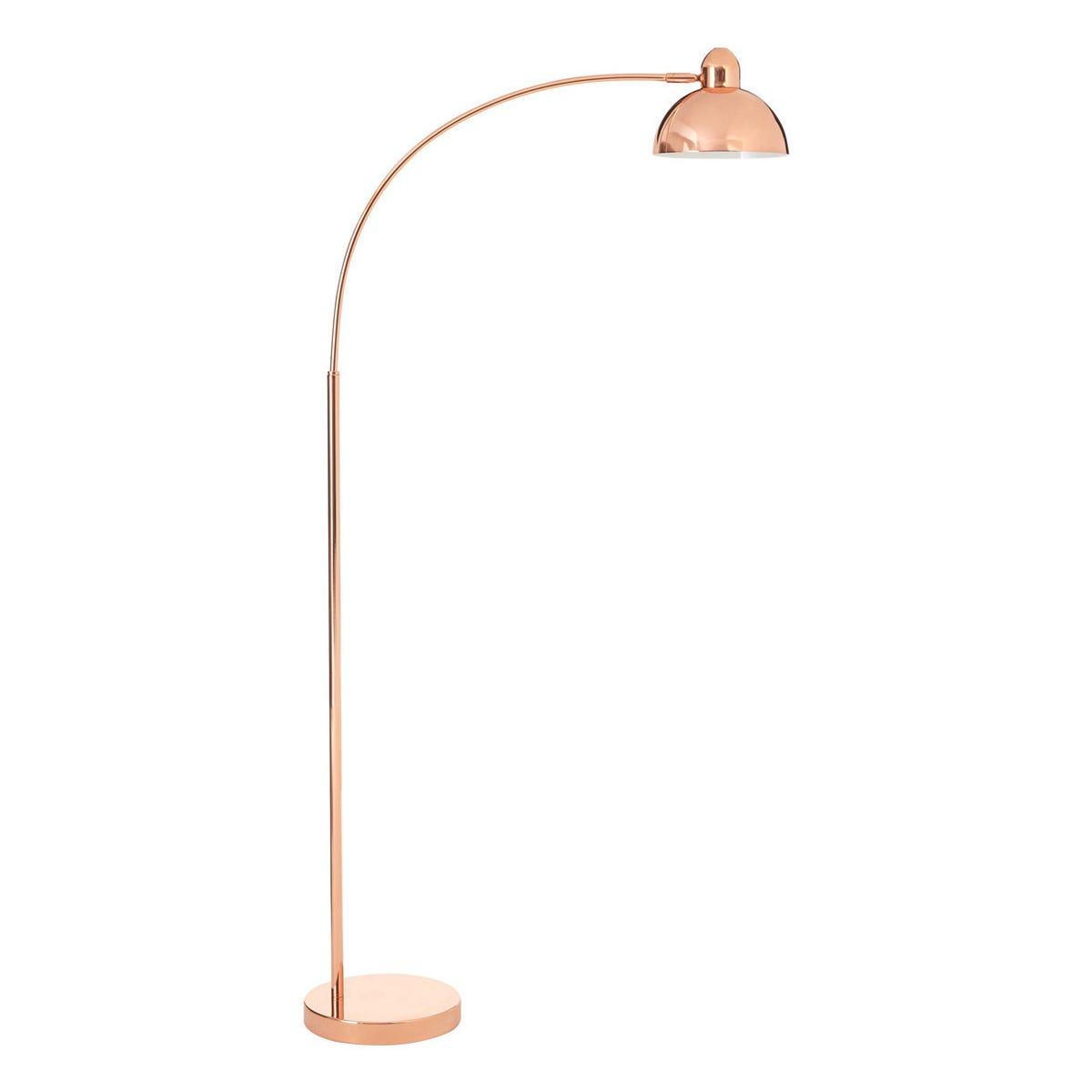 Interiors By Premier Floor Lamp - Copper