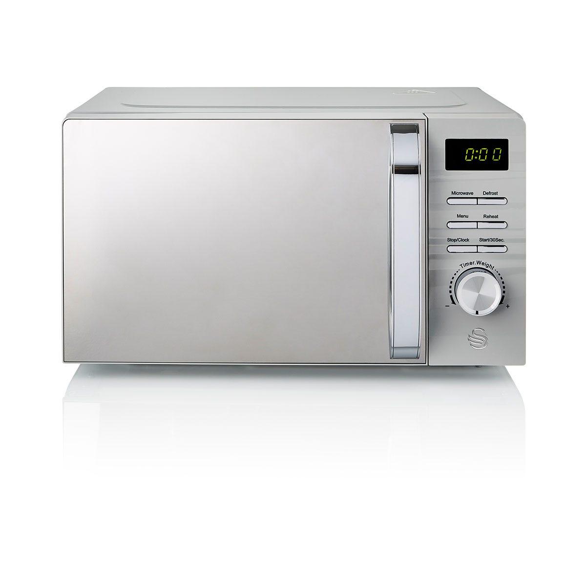 Swan SM22038GRN Symphony 700W Digital Microwave - Grey