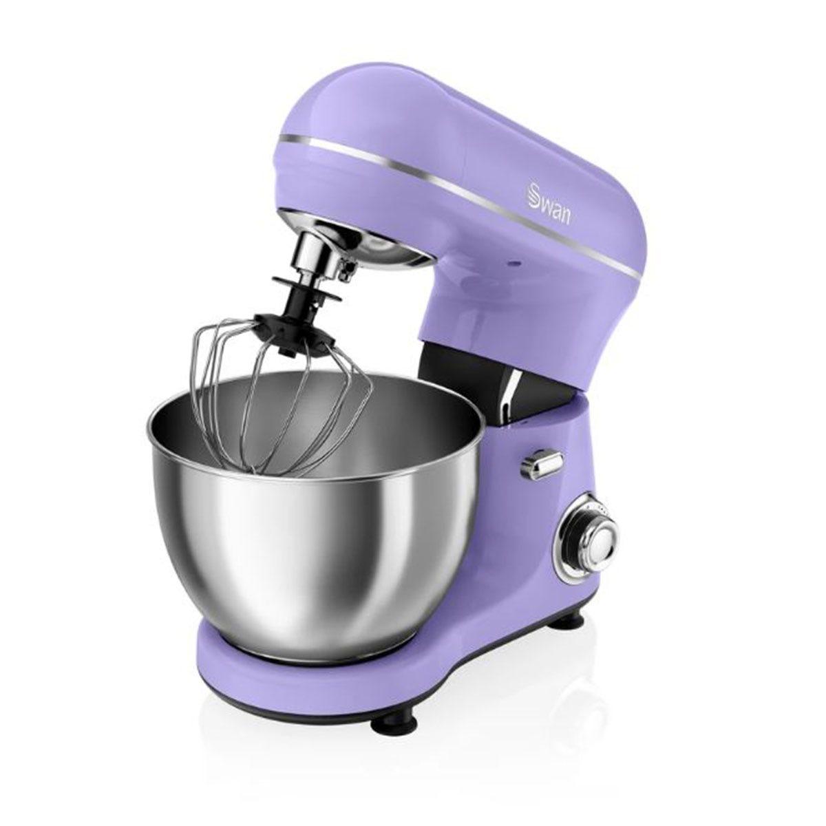 Swan SP21060PURN 800W Retro Stand Mixer - Purple