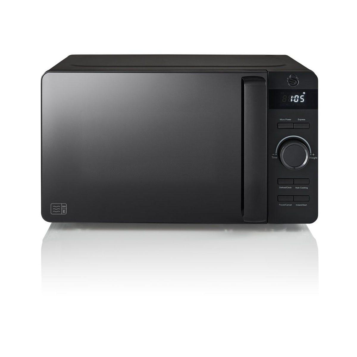 Swan SM22037BLKN Stealth 20L Microwave - Black