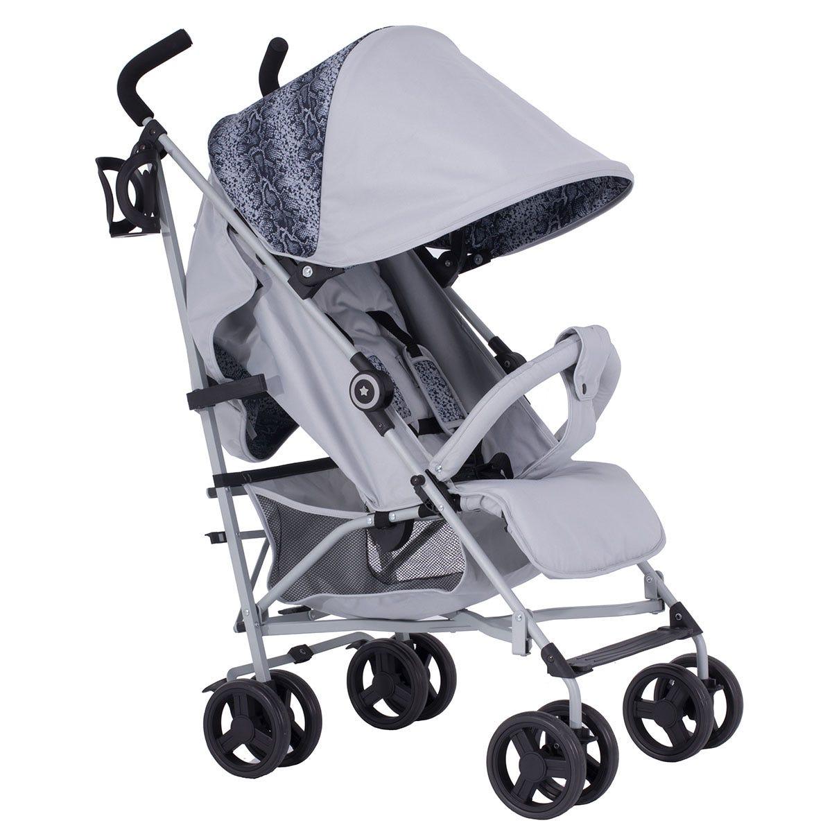 My Babiie Dreamiie MB02 Stroller - Platinum Snake