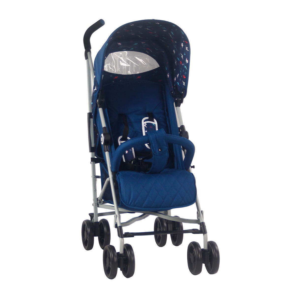 My Babiie MB02 Stroller - Blue Flash