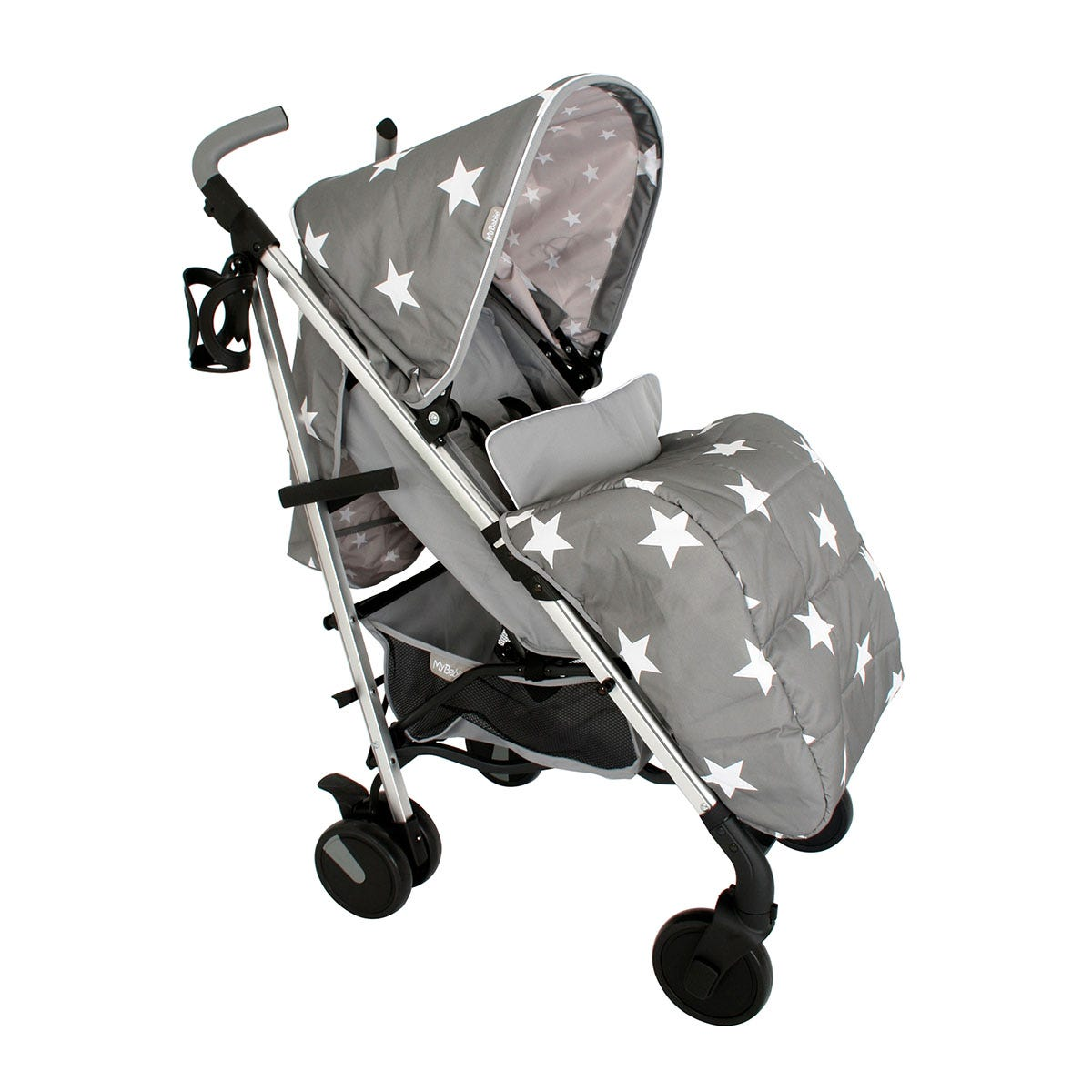 My Babiie Billie Faiers MB51 Stroller - Grey Stars