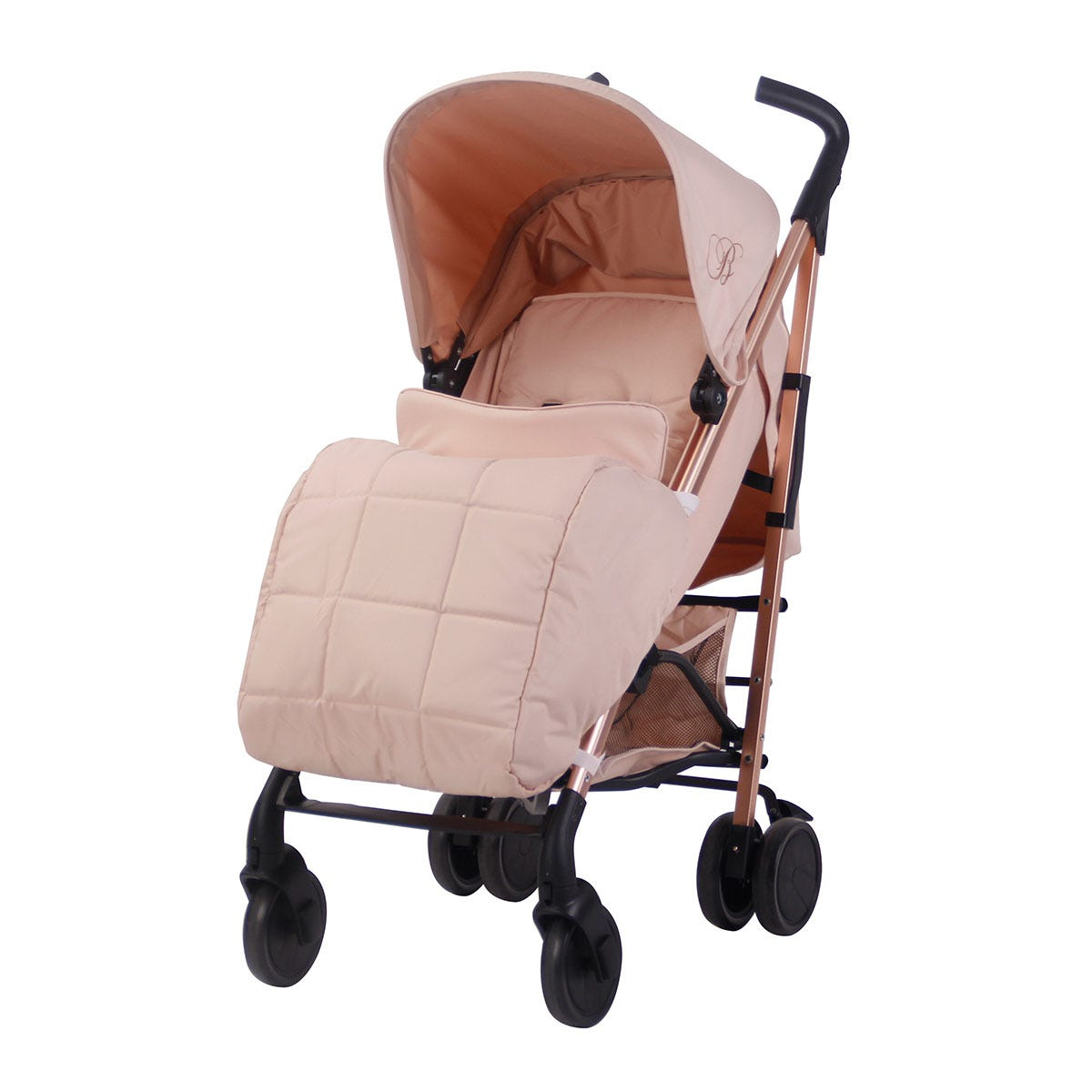 My Babiie Billie Faiers MB51 Stroller - Rose Gold and Blush