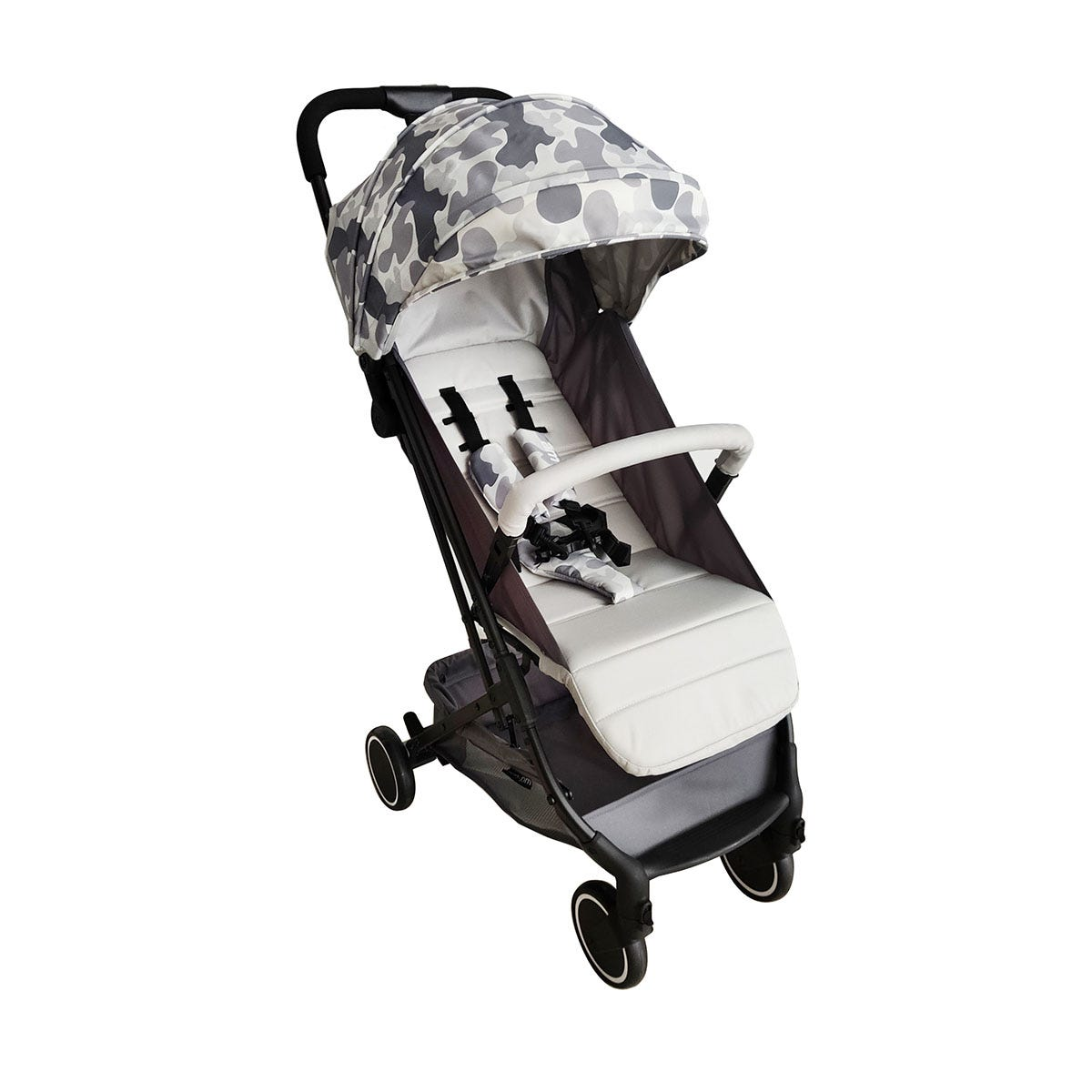My Babiie AM to PM Christina Milian MBX1 Compact Stroller - Grey Camo
