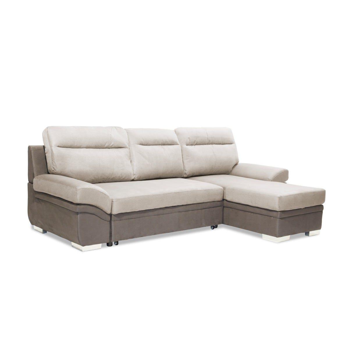 Jarrow Corner Chaise Sofa Bed With Storage