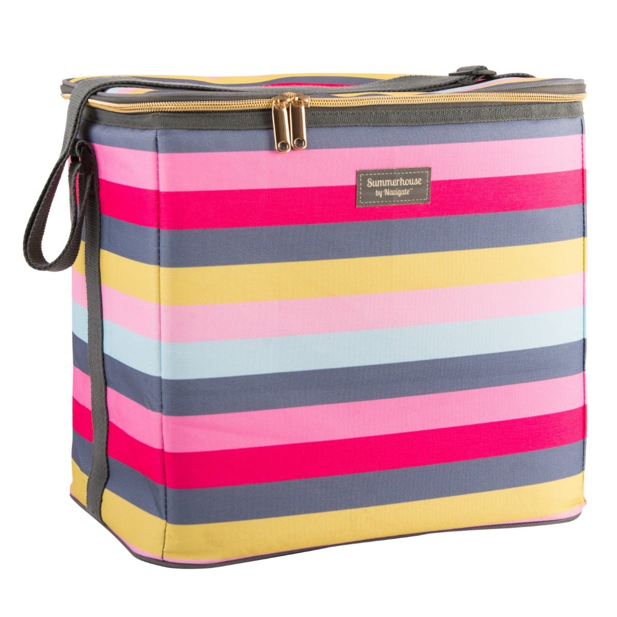 Summerhouse Gardenia Stripe 20L Family Cool Bag - Multi-coloured