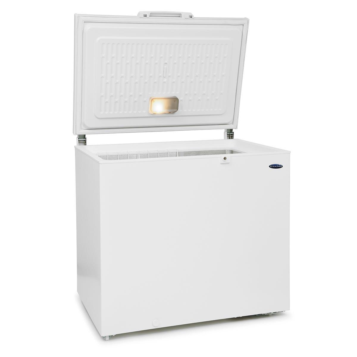 IceKing CF252W.E 252 Litre Chest Freezer - White