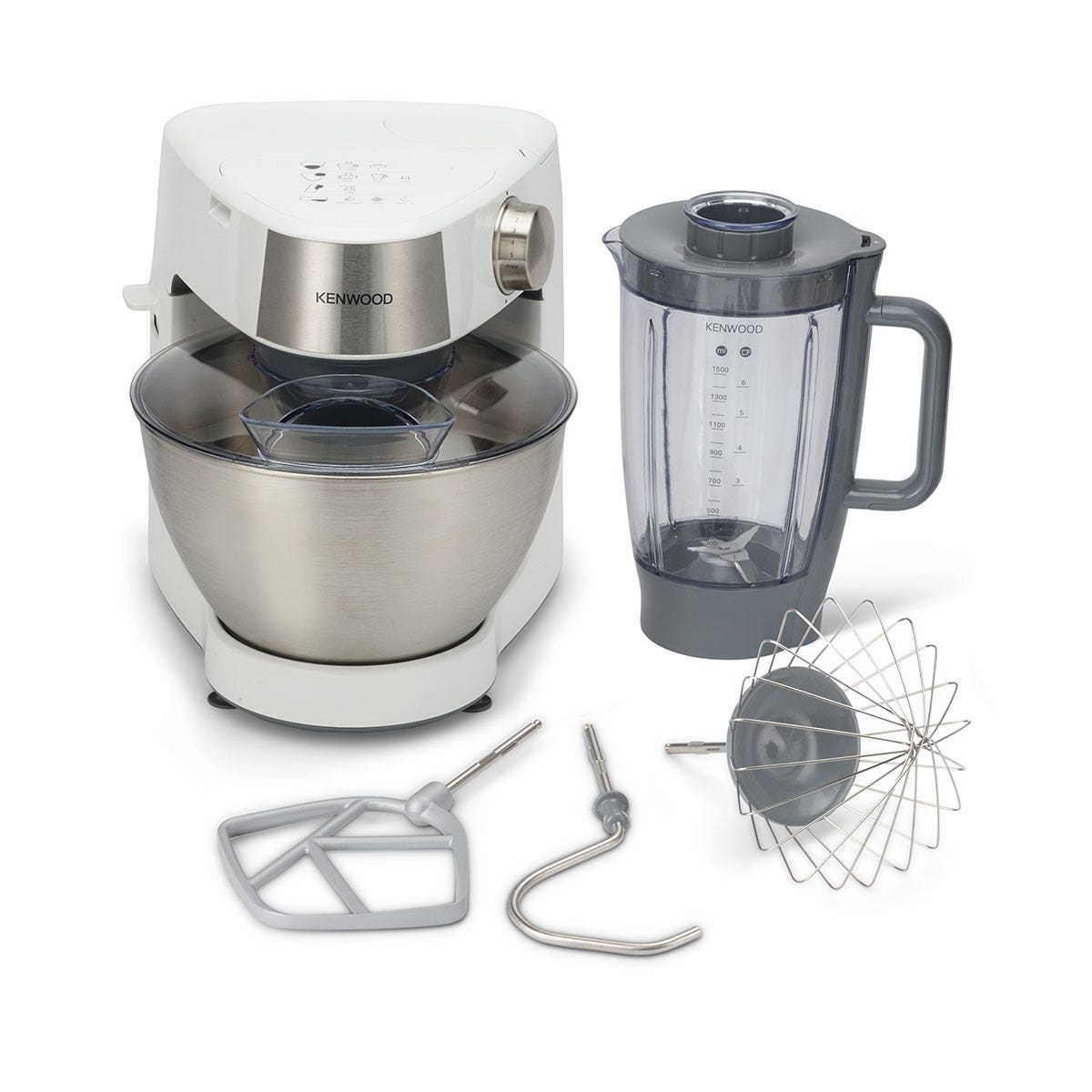 Kenwood KHC29.B0WH Prospero 4.3L Stand Mixer - White and Stainless Steel