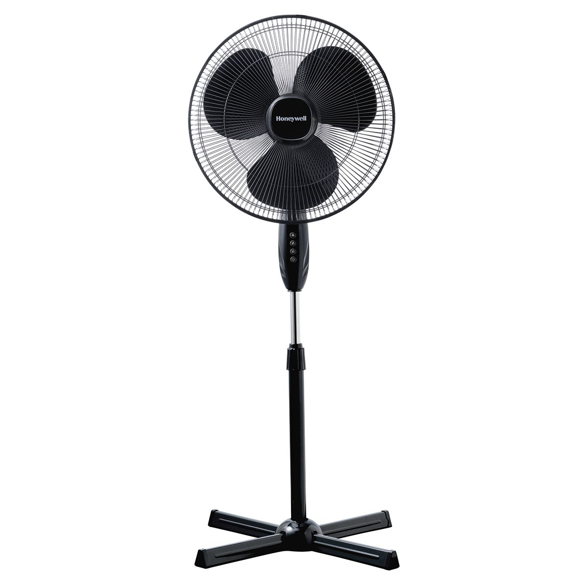 Honeywell Comfort Control Cooling Stand Fan - Black