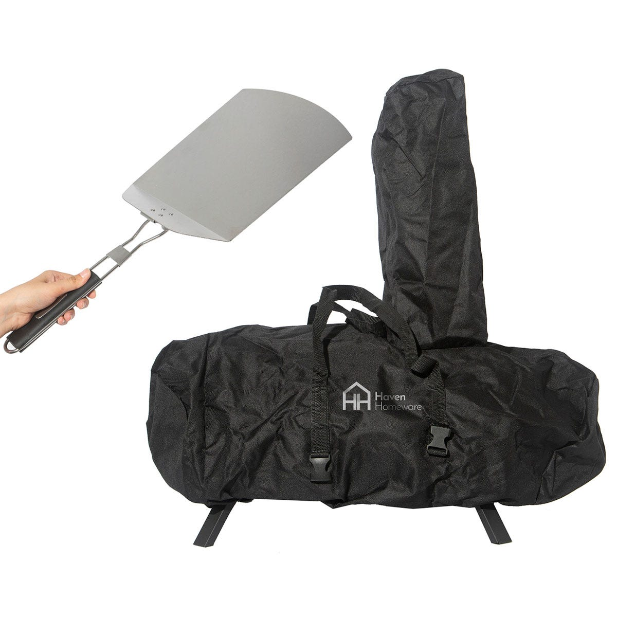 Haven Pizza Oven with Pizza Paddle and Raincover
