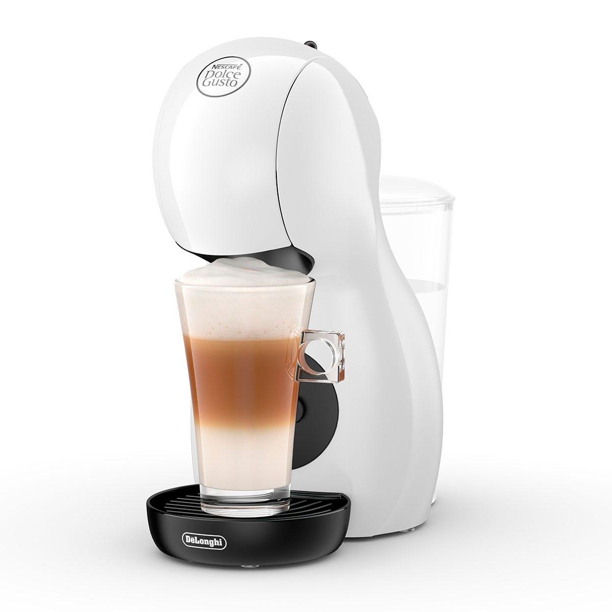 Delonghi EDG110.WB Dolce Gusto Piccolo XS Capsule Coffee Machine - White and Black