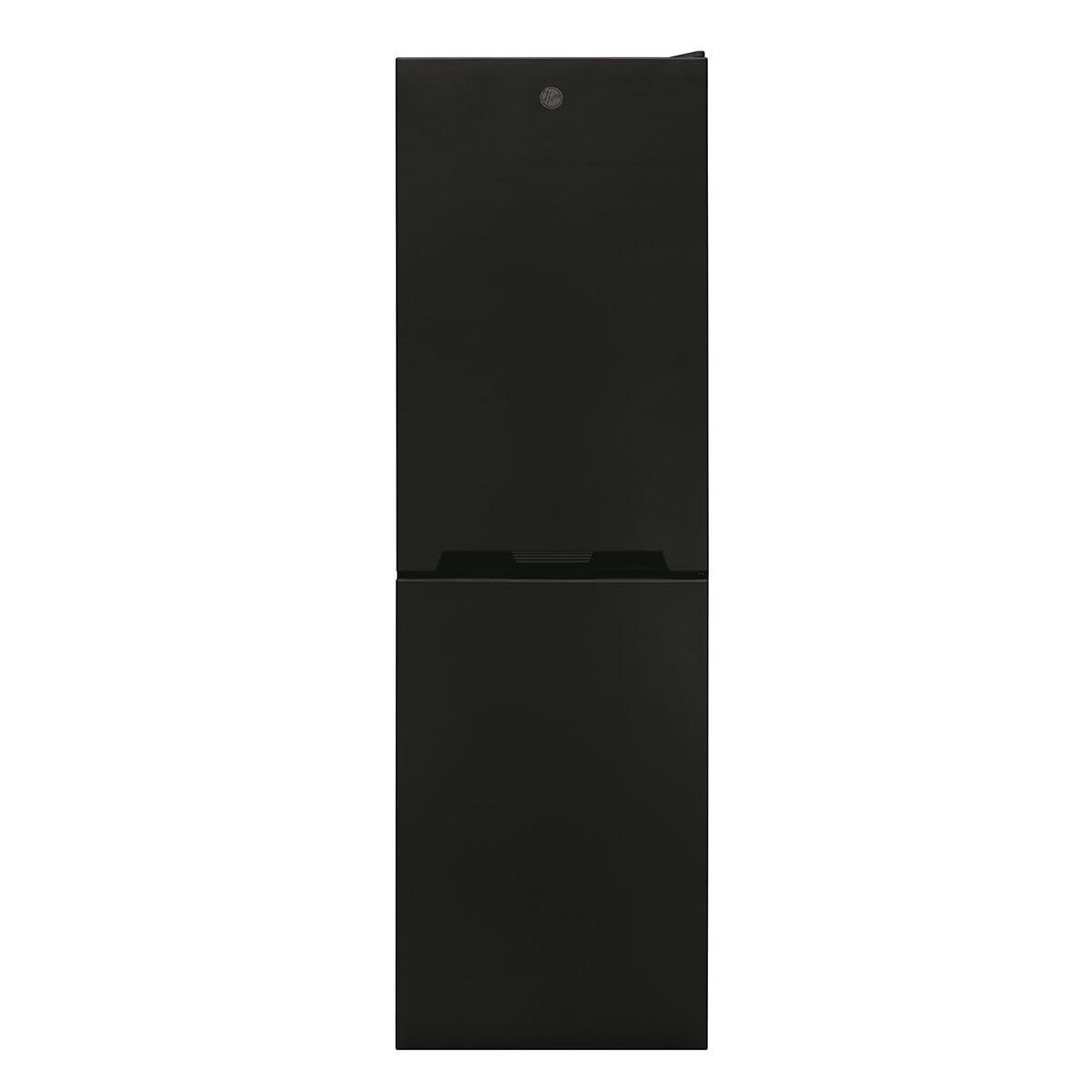 Hoover HOCV1S517FBK 163L/114L Freestanding Static Fridge Freezer - Black