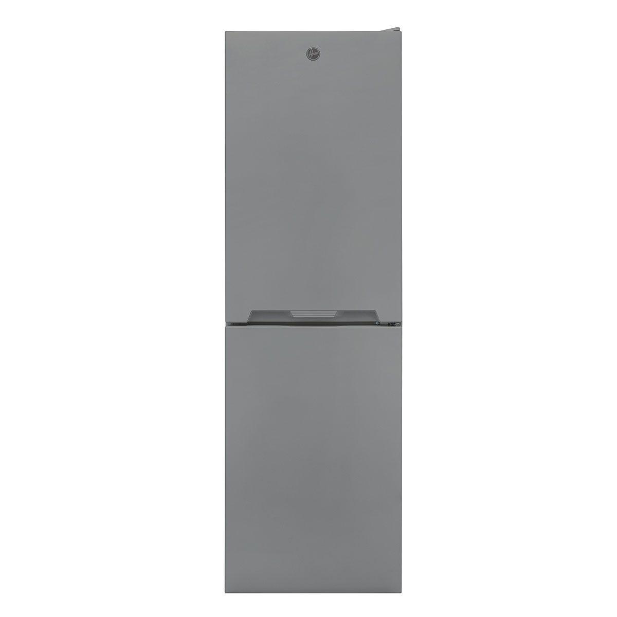 Hoover HOCV1S517FXK 163L/114L Freestanding Static Fridge Freezer - Grey