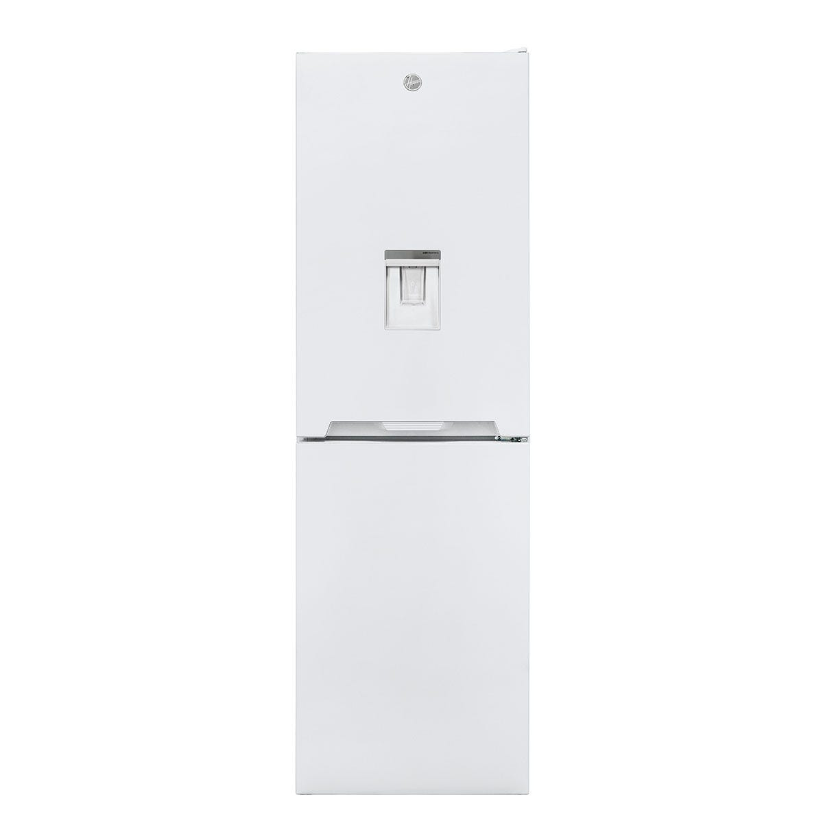 Hoover HOCV1S517FWWK 163L/114L Freestanding Static Fridge Freezer with Water Through The Door - White