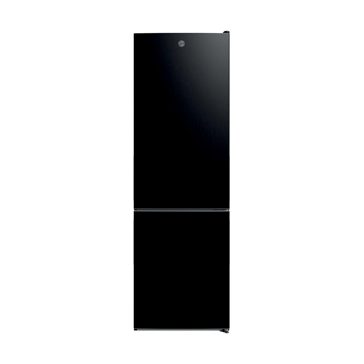 Hoover HMDNB 6184BK 60cm 302L Total No Frost Fridge Freezer - Black
