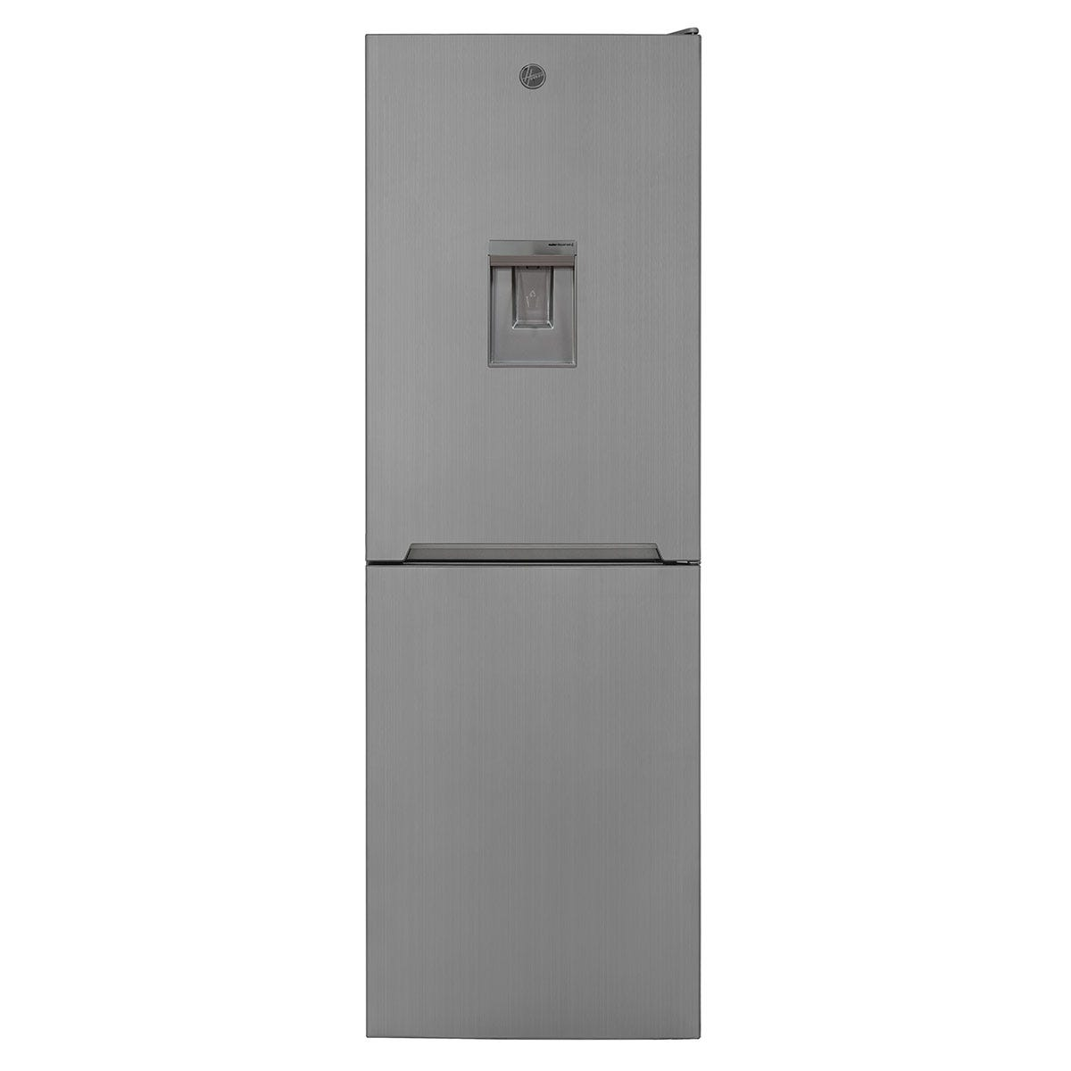 Hoover HVNB 618FX5WDK 323L 60cm Total No Frost Fridge Freezer - Stainless Steel