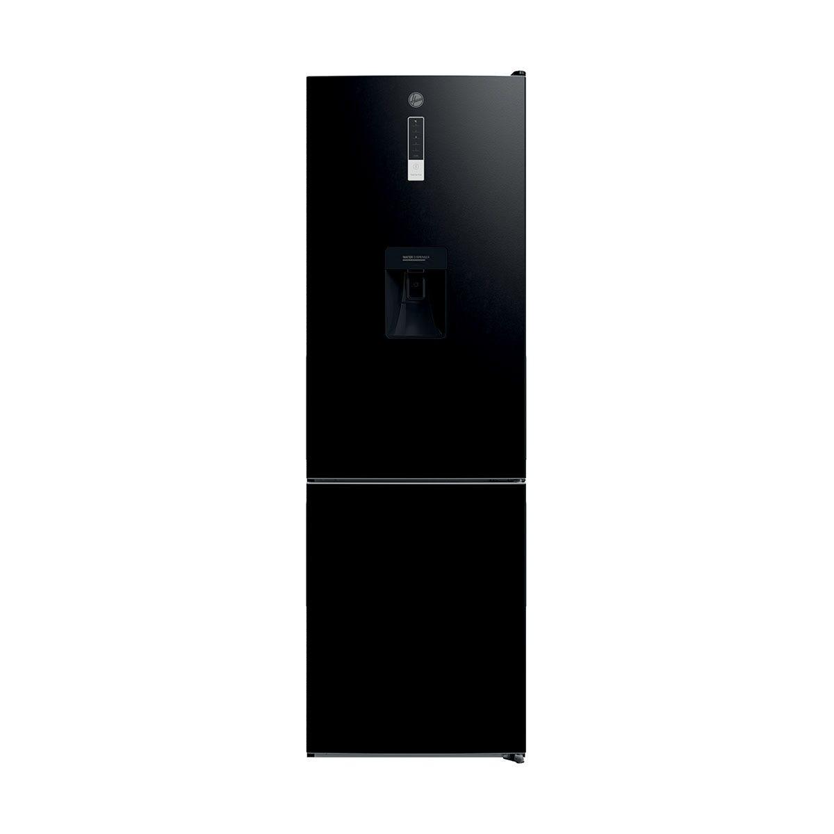 Hoover HMDNV 6184BWDK 60cm Total No Frost Fridge Freezer - Black