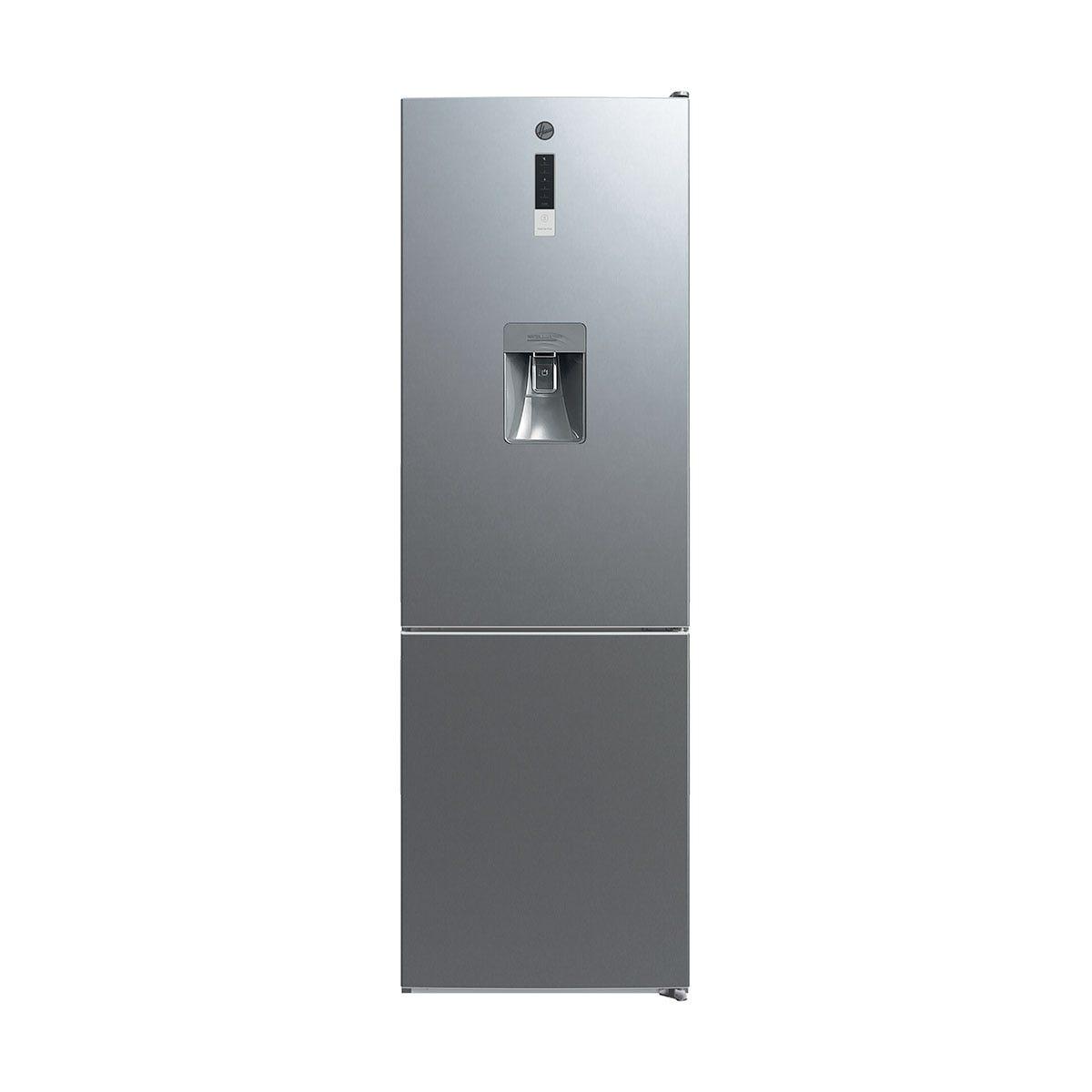 Hoover HMDNV 6184XWDK 300L 60cm Total No Frost Fridge Freezer - Stainless Steel