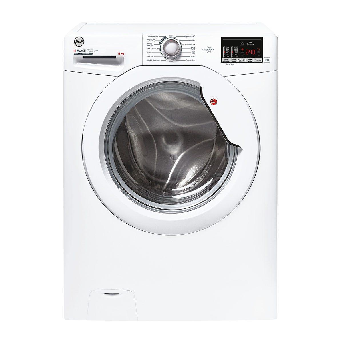 Hoover H3W 592DE H-Wash 300 9kg 1500rpm Digital Washing Machine - White