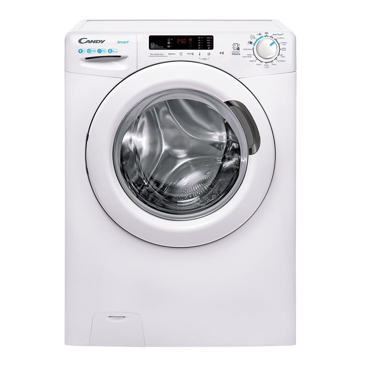 Candy CS 1492DE Smart 9kg 1400rpm NFC Washing Machine - White
