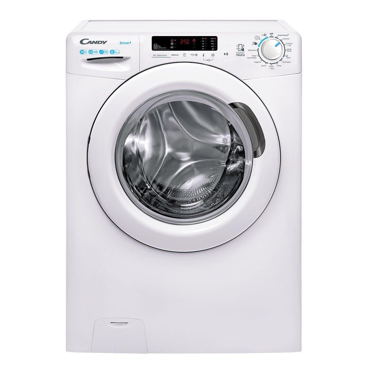 Candy CS 14102DE Smart 10kg 1400rpm NFC Washing Machine - White
