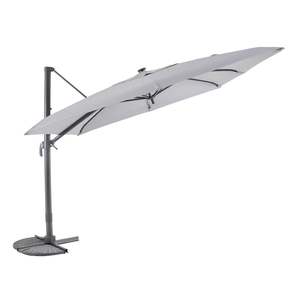 MWH Overhanging Cantilever Parasol (base not included) - Anthracite/Cream
