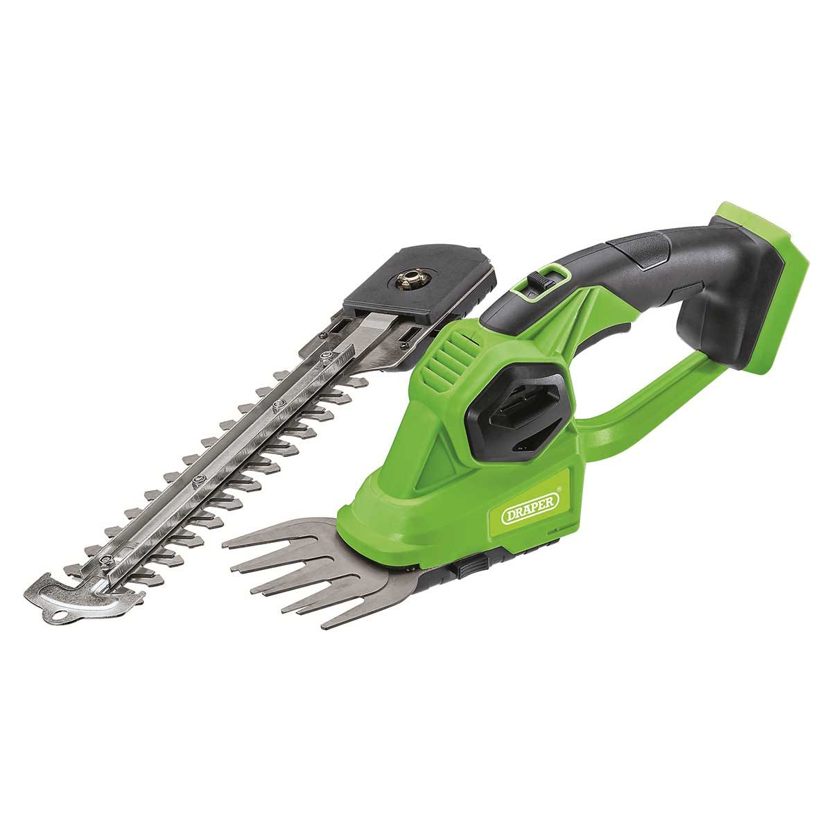 Draper D20 20V 2-In-1 Grass And Hedge Trimmer - Bare