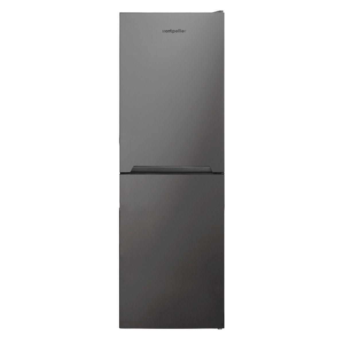 Montpellier MFF165S 54cm 50/50 Frost Free Fridge Freezer - Silver