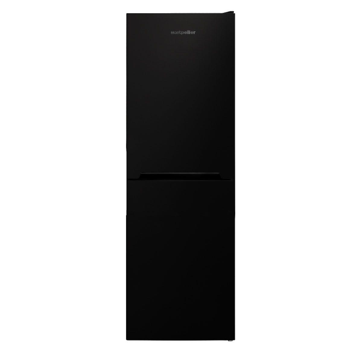 Montpellier MFF165K 54cm 50/50 Frost Free Fridge Freezer - Black