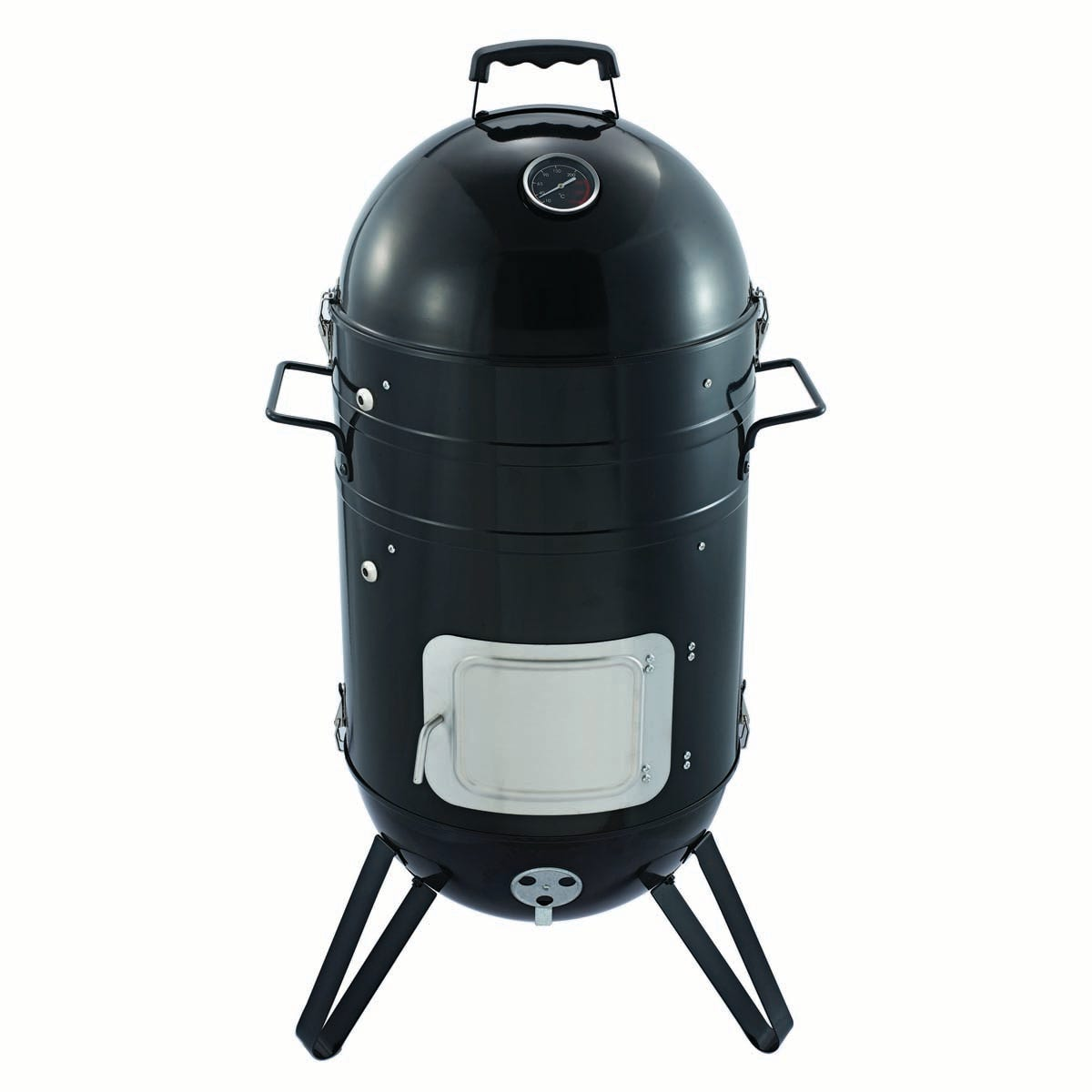 Callow Vertical Charcoal BBQ Smoker Grill