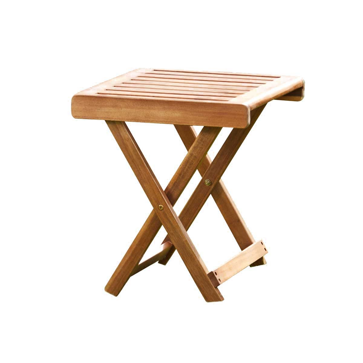 Garden Gear Acacia Folding Side Table