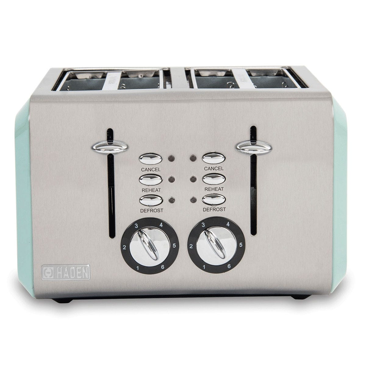 Haden 183774 Cotswold 1960W 4-Slice Toaster - Sage