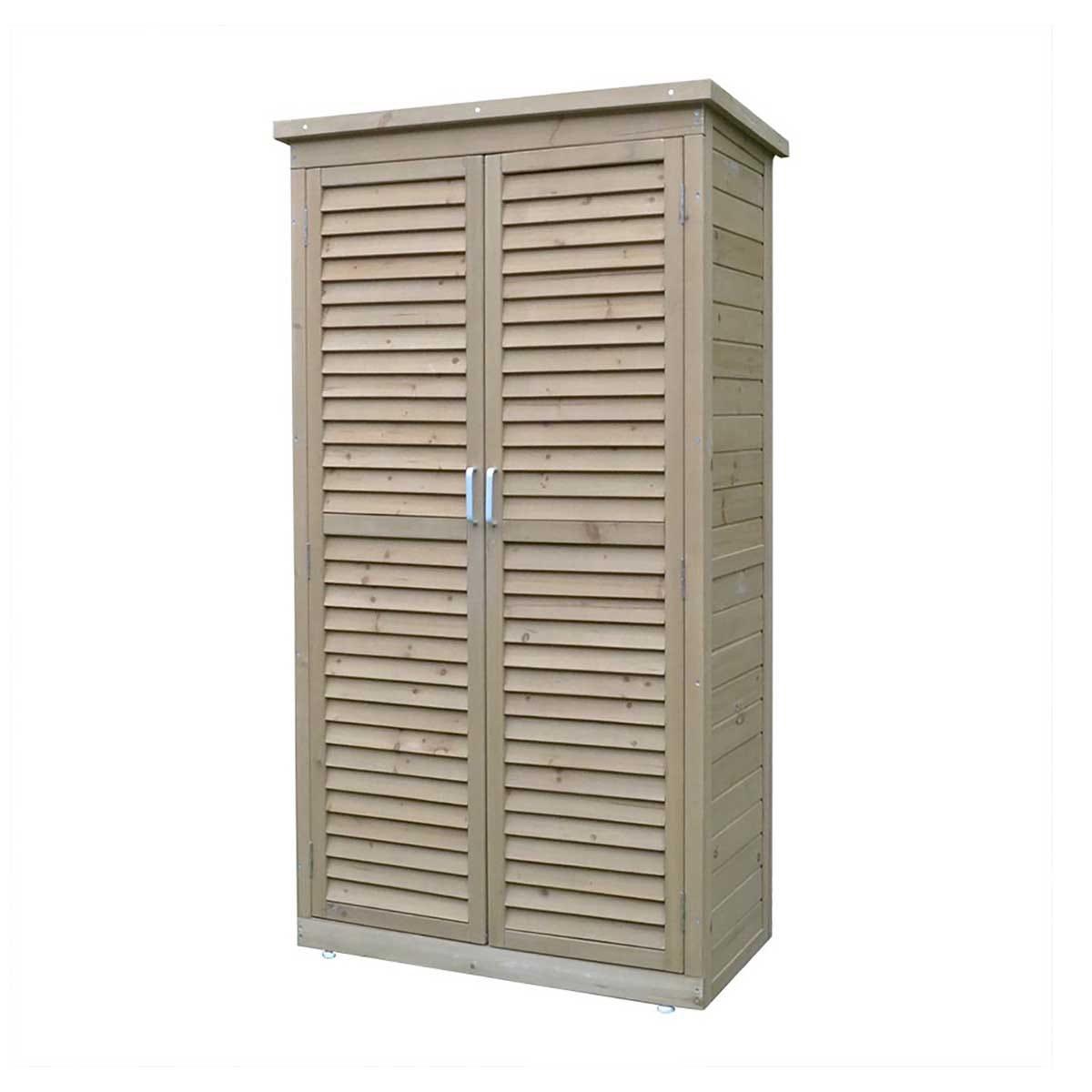 Airwave Garden Storage Unit - Brown