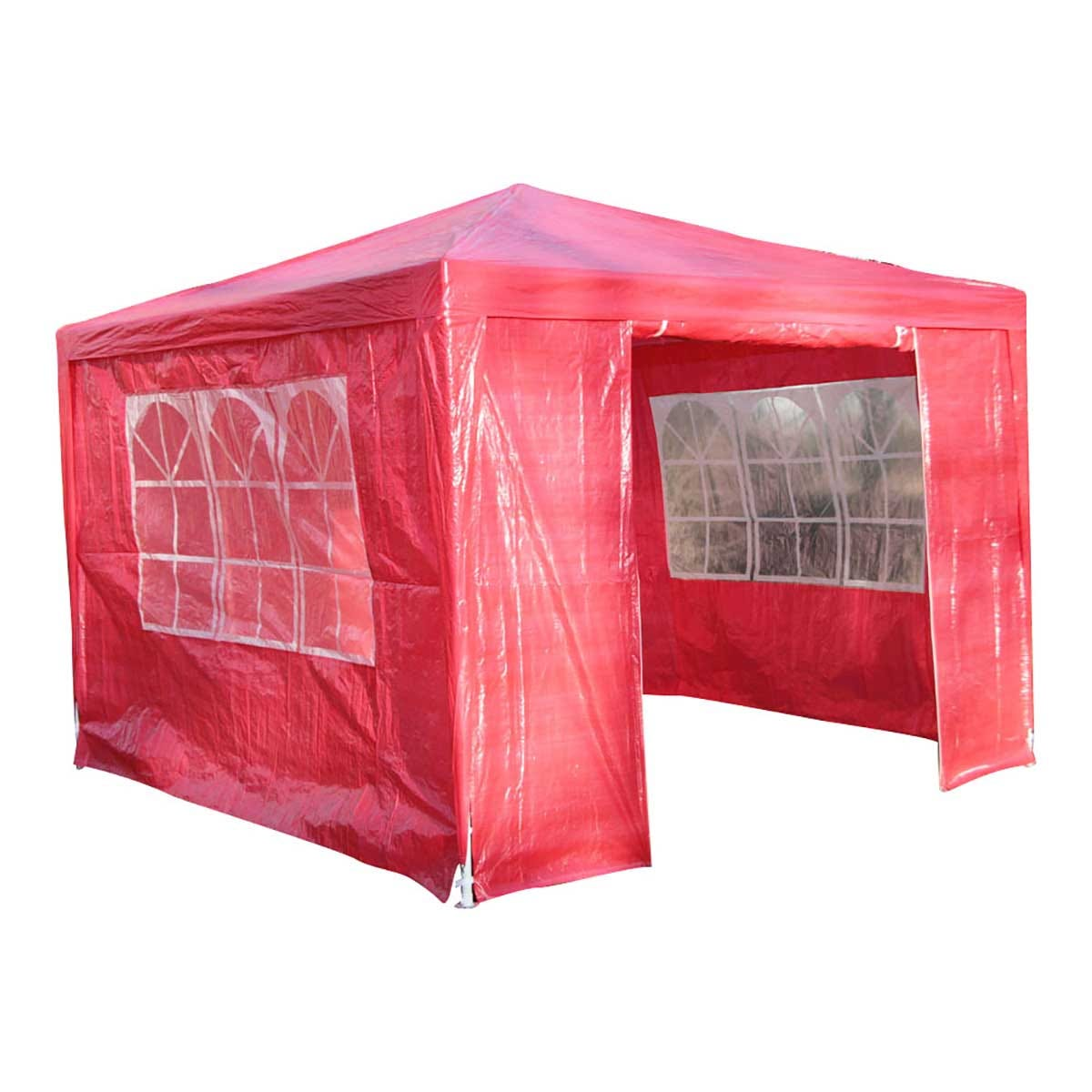Airwave 3m x 3m Value Party Tent Gazebo - Red