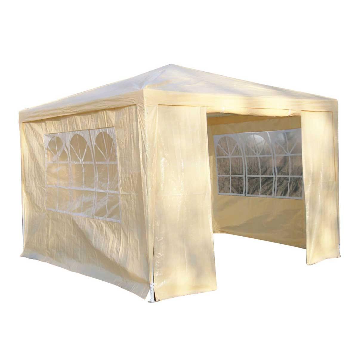 Airwave 3m x 3m Value Party Tent Gazebo - Beige