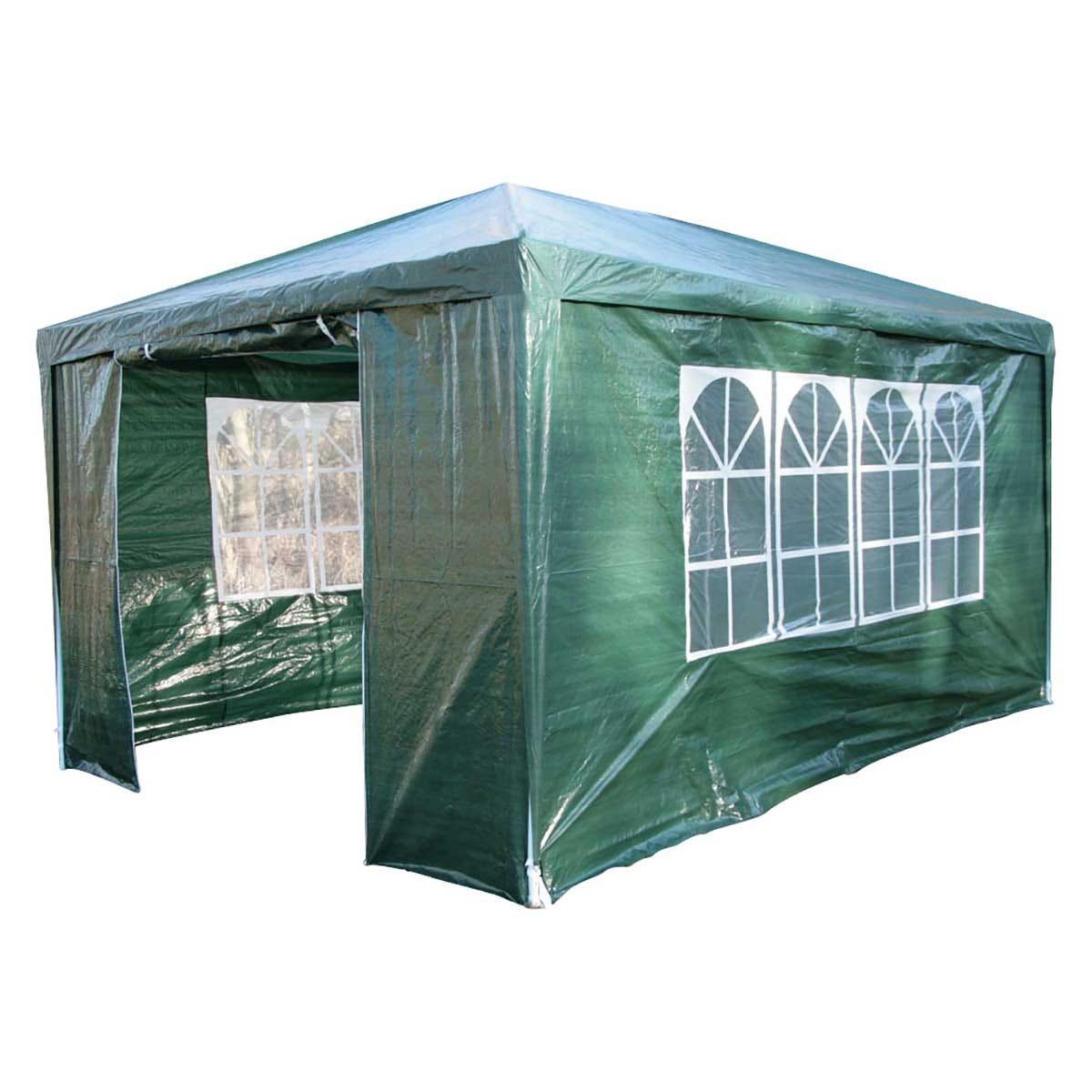 Airwave 4m x 3m Value Party Tent Gazebo - Green