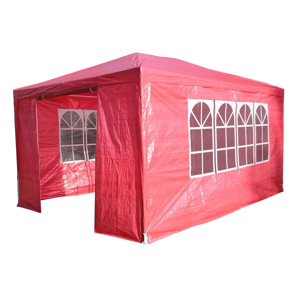Airwave 4m x 3m Value Party Tent Gazebo - Red