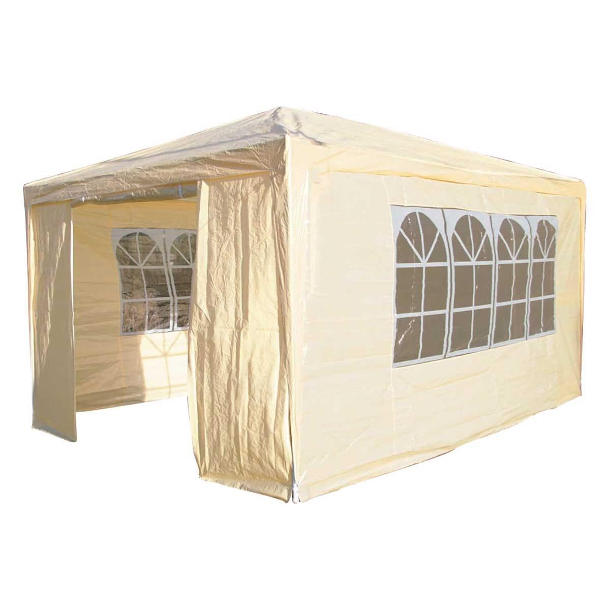 Airwave 4m x 3m Value Party Tent Gazebo - Beige