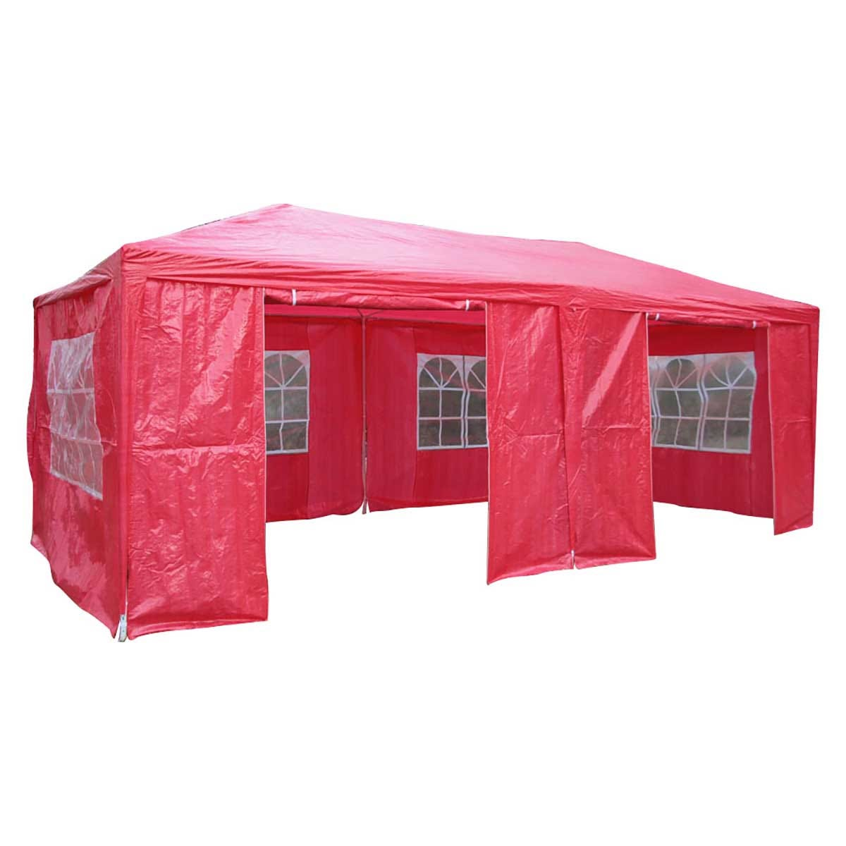 Airwave 6m x 3m Value Party Tent Gazebo - Red
