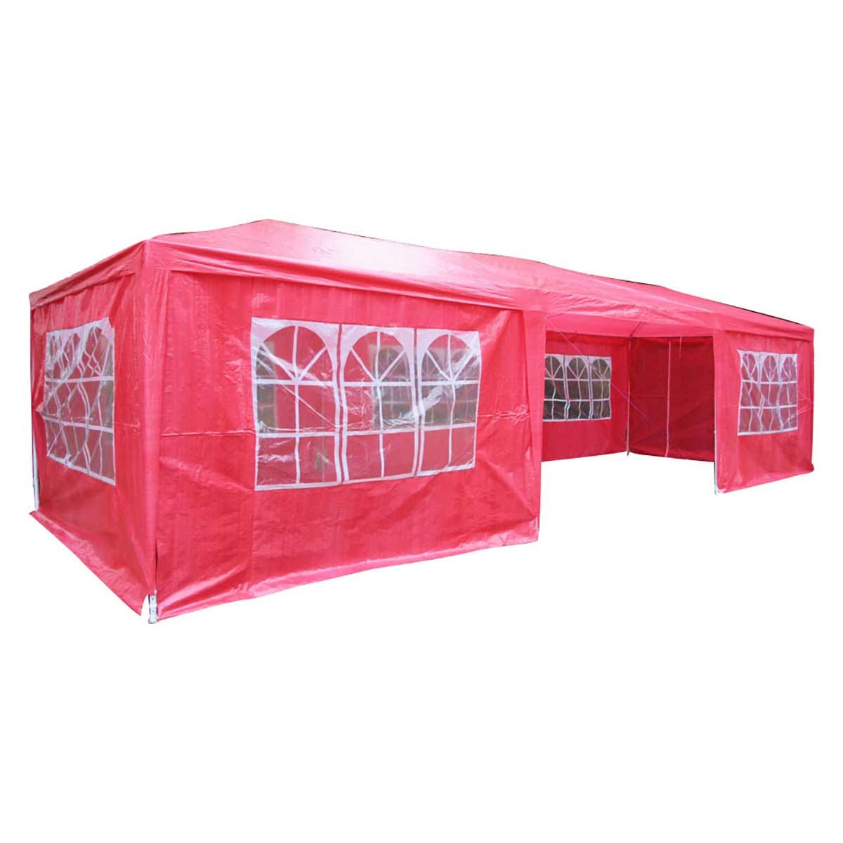 Airwave 9m x 3m Value Party Tent Gazebo - Red