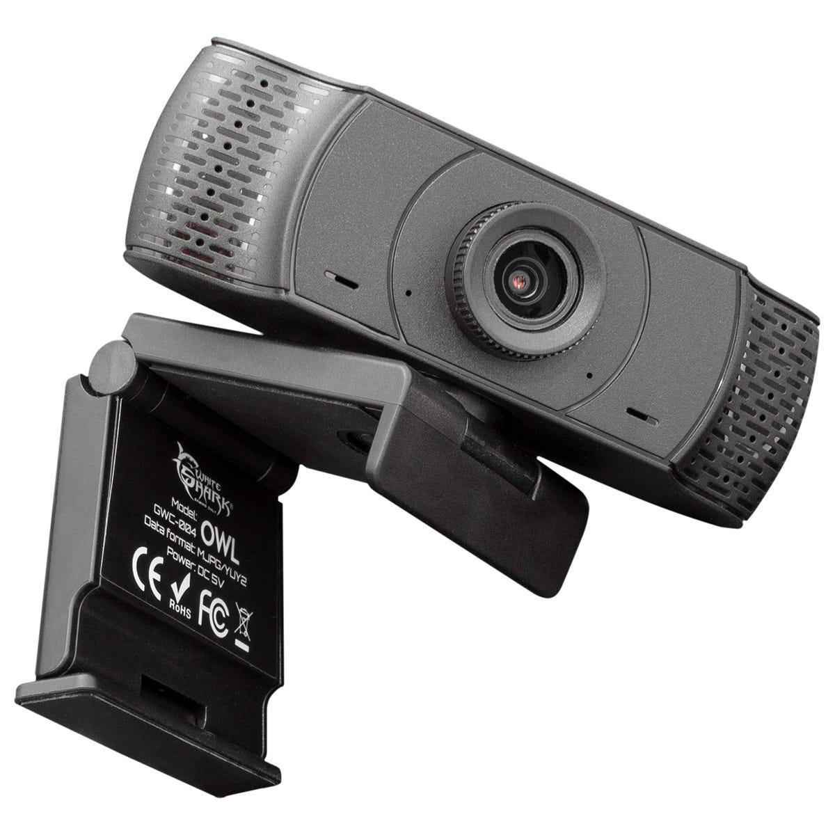 White Shark Owl GWC-004 1080P Webcam - Black
