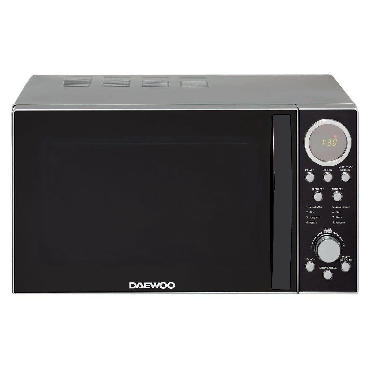 Daewoo SDA2087DS 20L 700W Microwave - Stainless Steel