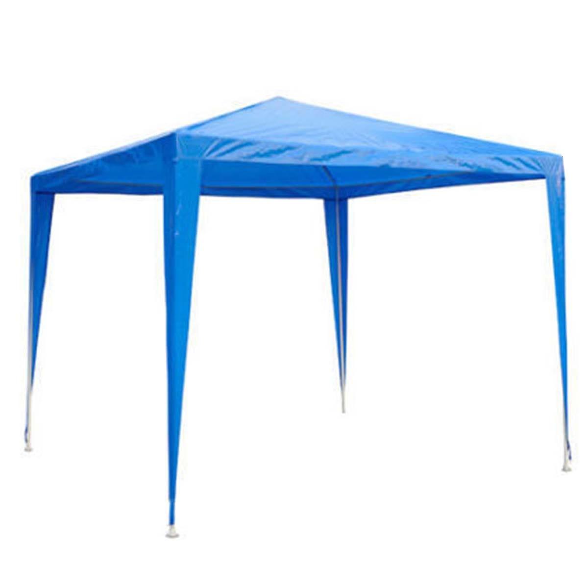 Outsunny 2.7 x 2.7m Garden Gazebo - Blue