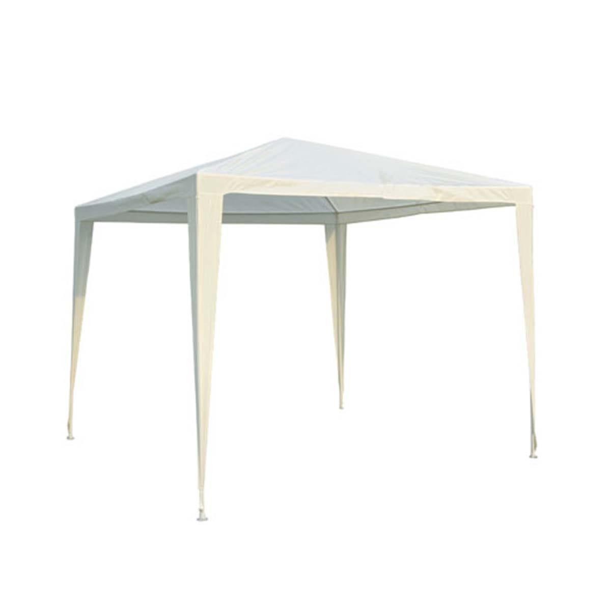 Outsunny 2.7 x 2.7m Garden Gazebo - White
