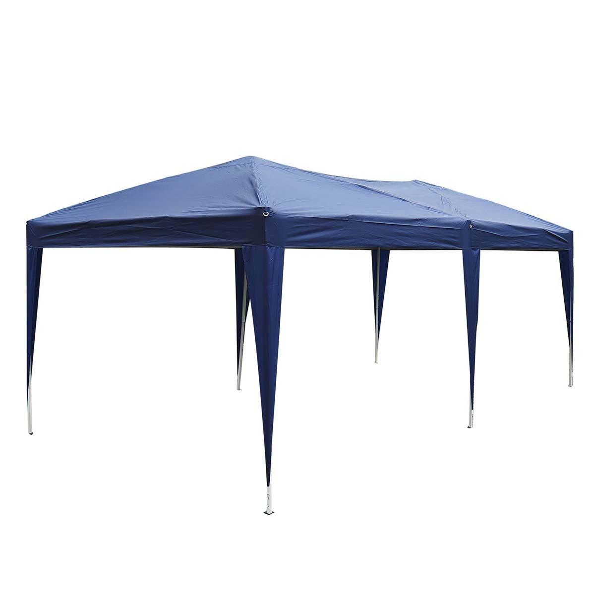 Outsunny 6 x 3m Garden Gazebo - Blue