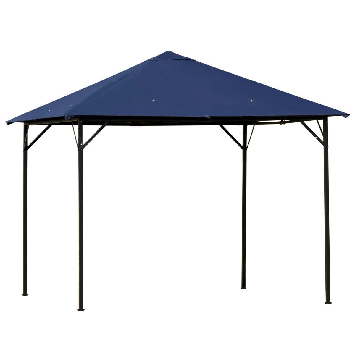 Outsunny 3 x 3m Outdoor Gazebo Shelter - Blue